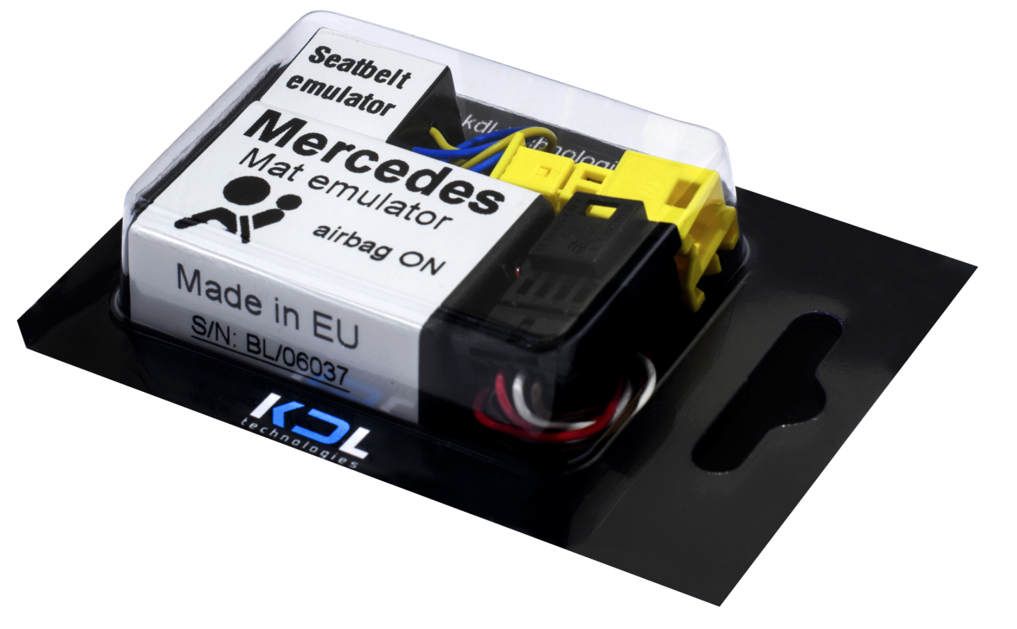 Passenger Seat Occupancy WSS Mat Bypass For MERCEDES BENZ Airbag Sensor Emulator